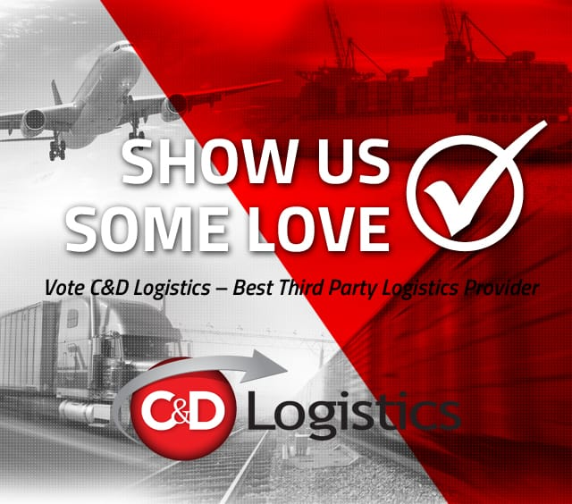Vote for C&D as Cargo Logistics Canada Best 3PL provider in the Awards of Excellence