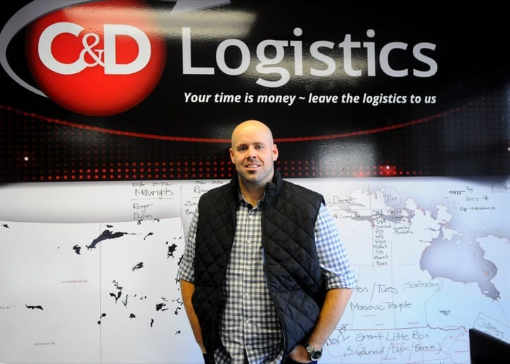 C&D Logistics President Dana Matheson featured in the Langley Times | Langley Chamber of Commerce Award Recipient