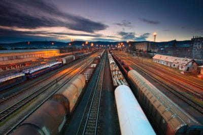 Reducing freight costs with rail shipping