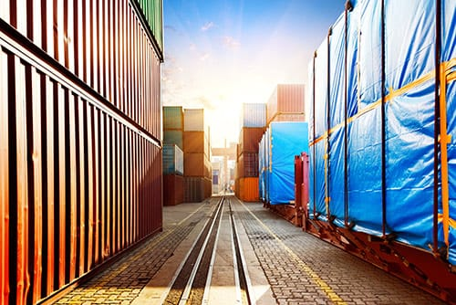 Intermodal freight shipping from C&D Logistics