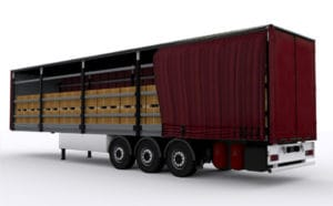 Curtain Side Freight Truck - C&D Logistics
