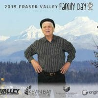 What a great backdrop for a prim guy at the Fraser Valley Family Day