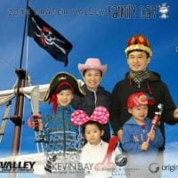 Taking a ship in Langley for Family Day