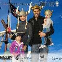 The vikings and pirates made a scare at the Fraser Valley Family Day
