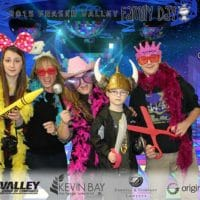 Back at the 'disco' for the Fraser Valley Family Day in Langley
