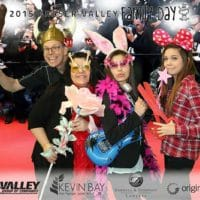 The red carpet was seeing a lot of traffic in the Fraser Valley for Family Day