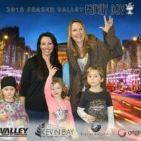 Family day fun times with parents and kids