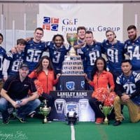 C&D Logistics, BC Lions and Langley Rams come together