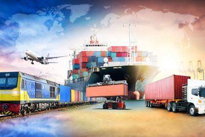 Modes of transportation in logistics