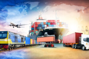 What is freight forwarding in logistics?